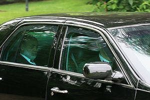 Bernanke Leaving Bilderberg 2008